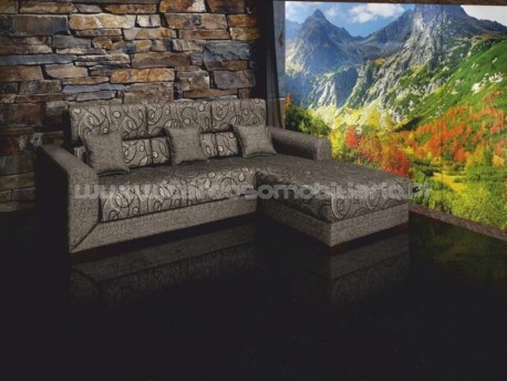 Berilux sofa with chaise long