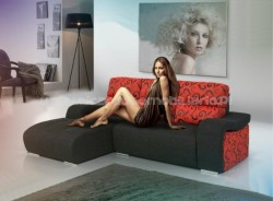 Siroco sofa with chaise long