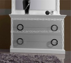 Chest of Drawers Onda d´prata