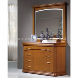 Chest of Drawers Lux VIP with mirror