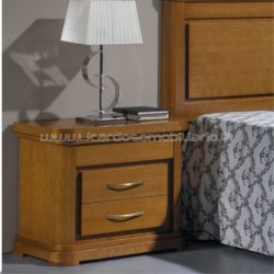 Bedside table Safira round corners