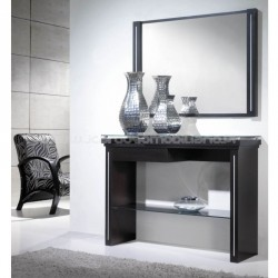 Console Safira top glass