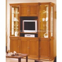 Bookcase Lux 4 doors