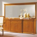 Sideboard Lux 6P with mirror