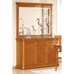 Sideboard Lux 3P with mirror