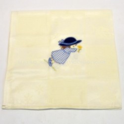 Kitchen cloth embroidered terrycloth