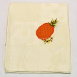 Kitchen cloth embroidered fruit