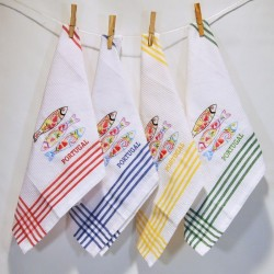 Cloths embroidered kitchen R. 19 B