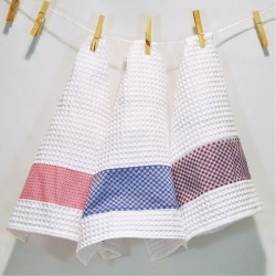 Square kitchen cloths