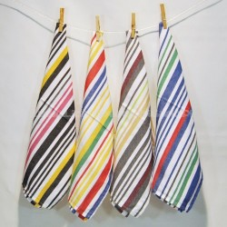 Striped kitchen cloths