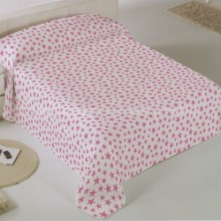 Double Sided Star Bedspread