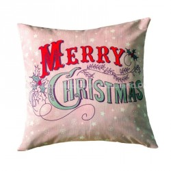Decorative Christmas Pillow Merry Chrismas