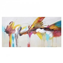 Painted canvas Explosion 160