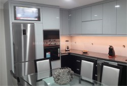 Lacquered and Wenge Kitchen